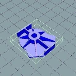 Free 3d printer designs BLERIOT ENGINE BLOCK FLANGE, charlescotte
