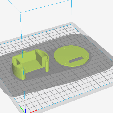 SUPPORT SERVO DROIT.png Download free STL file RIGHT SERVO SUPPORT • 3D printable object, charlescotte