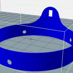 Modelos 3D para imprimir gratis ANILLO DE PROTECCIÓN DE HELICE DE CUATRO COLORES, charlescotte