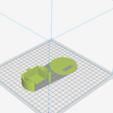 SUPPORT SERVO GAUCHE.png Download free STL file SERVO SUPPORT LEFT • 3D print object, charlescotte