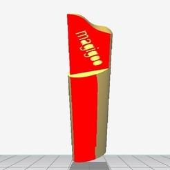 Fichier imprimante 3D gratuit ouvre lettre, gilles81
