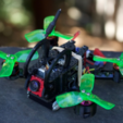 Free STL file Eachine Aurora 100 FPV Racing Quad Upgrade Kit & Mods: YOUR FIRST DRONE, BananaScience