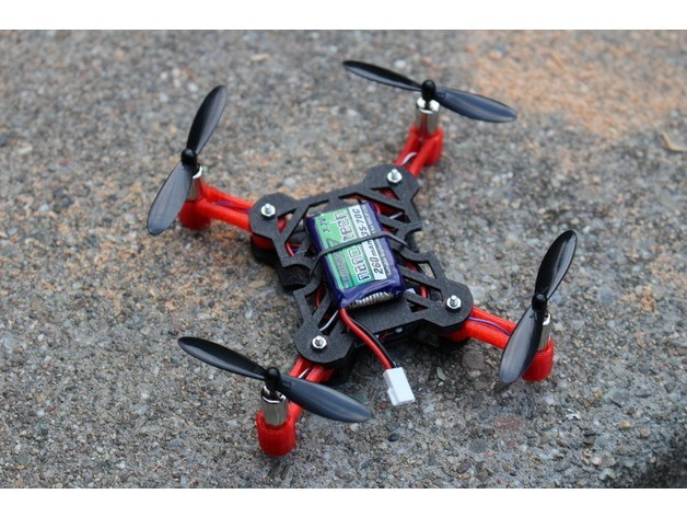 8b467865f0444e581779c35d6b773bf3_preview_featured.jpg Download free STL file Pico 110 High Performance Foldable Micro Quad • Design to 3D print, BananaScience