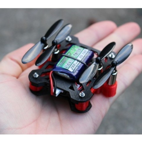 86bd34d4988333cafc5bb1bce5413fac_preview_featured.jpg Download free STL file Pico 110 High Performance Foldable Micro Quad • Design to 3D print, BananaScience