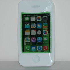 Diseños 3D gratis Caso extremadamente durable de Iphone 4, BananaScience