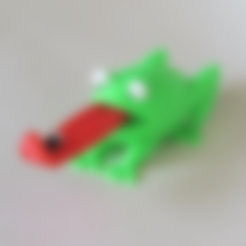 Frog_Eyes_Single_Color.stl Télécharger fichier STL gratuit Grenouille • Design imprimable en 3D, BananaScience