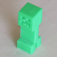 Download free STL Minecraft creeper, BananaScience
