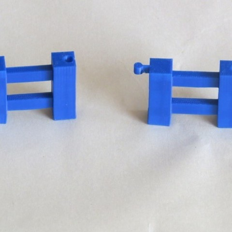 IMG_0722_preview_featured.jpg Download free STL file Minecraft Fence • Template to 3D print, BananaScience