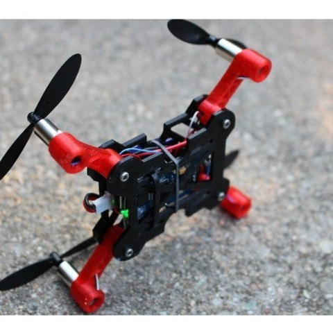 d09616f988f28a58a221039911e4fb14_preview_featured.jpg Download free STL file Pico 110 High Performance Foldable Micro Quad • Design to 3D print, BananaScience