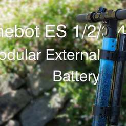 Download free 3D printer designs Ninebot ES1/2/3/4 Modular External Battery Mount, BananaScience