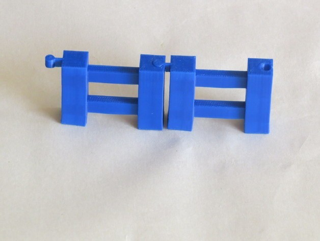IMG_0724_preview_featured.jpg Download free STL file Minecraft Fence • Template to 3D print, BananaScience