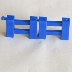 Download free STL file Minecraft Fence • Template to 3D print, BananaScience