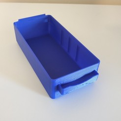 Raaco_drawer_3Dprinted.jpg Download free STL file Raaco drawer • 3D printable model, Gydius