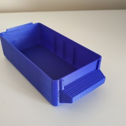 Unknown_drawer_3Dprinted.jpg Download free STL file Drawer • 3D printable template, Gydius