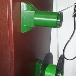 Archivos STL gratis Portabobinas de filamento, Xukyo