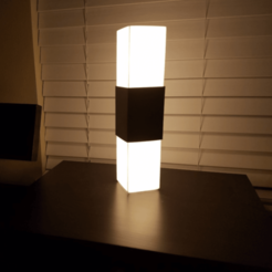 3D printing model Square Lamp, stensethjeremy