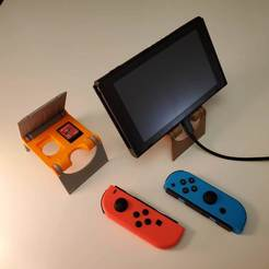 20191020_011159.jpg Download free STL file Nintendo Switch Stand • 3D printing design, stensethjeremy