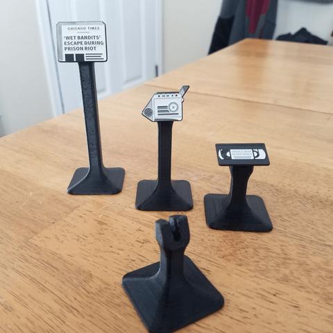 Download free STL file Enamel Pin Display Stand ・ Cults