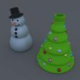 Free 3D print files Christmas Soap Dispenser, stensethjeremy