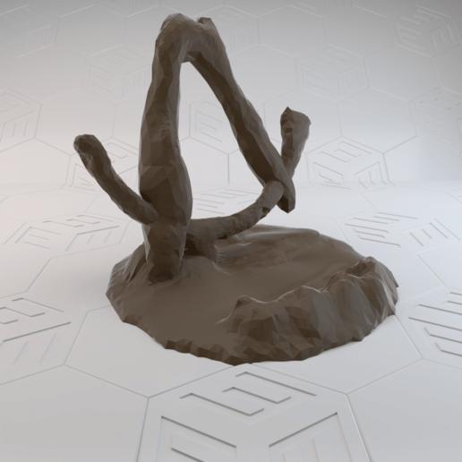 Broken Vault Symbol4.png Télécharger fichier STL gratuit Support de téléphone avec symbole de chambre forte brisée Borderlands • Objet imprimable en 3D, stensethjeremy