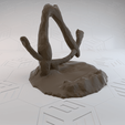 Download free 3D printer templates Borderlands Broken Vault Symbol Phone Stand, stensethjeremy