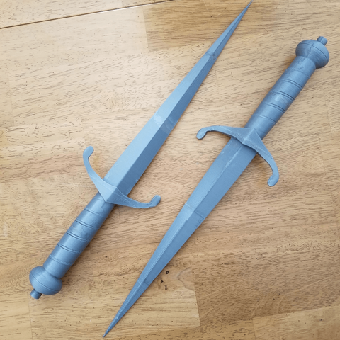 Free V for Vendetta Dagger 3D printer file, stensethjeremy