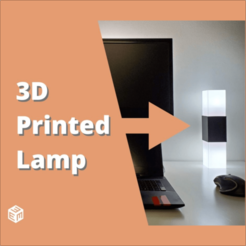 square lamp image.png Download free STL file Square Lamp • 3D printer template, stensethjeremy