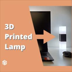 square lamp image.png Télécharger fichier STL gratuit Lampe carrée • Plan pour impression 3D, stensethjeremy