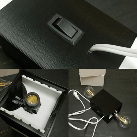 Capture d'écran 2018-03-26 à 17.00.03.png Download free STL file Square Lamp • 3D printer template, stensethjeremy