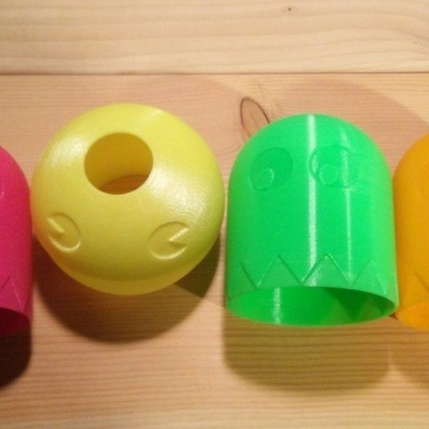 IMG_20151203_1932572_preview_featured.jpg Download free STL file PacMan Inspired Light Shade • 3D print object, stensethjeremy