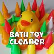fichier stl Nettoyant pour jouets de bain, stensethjeremy