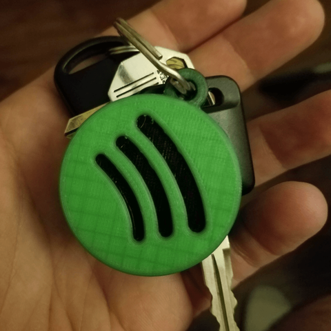 Download free STL Spotify Keychains, stensethjeremy