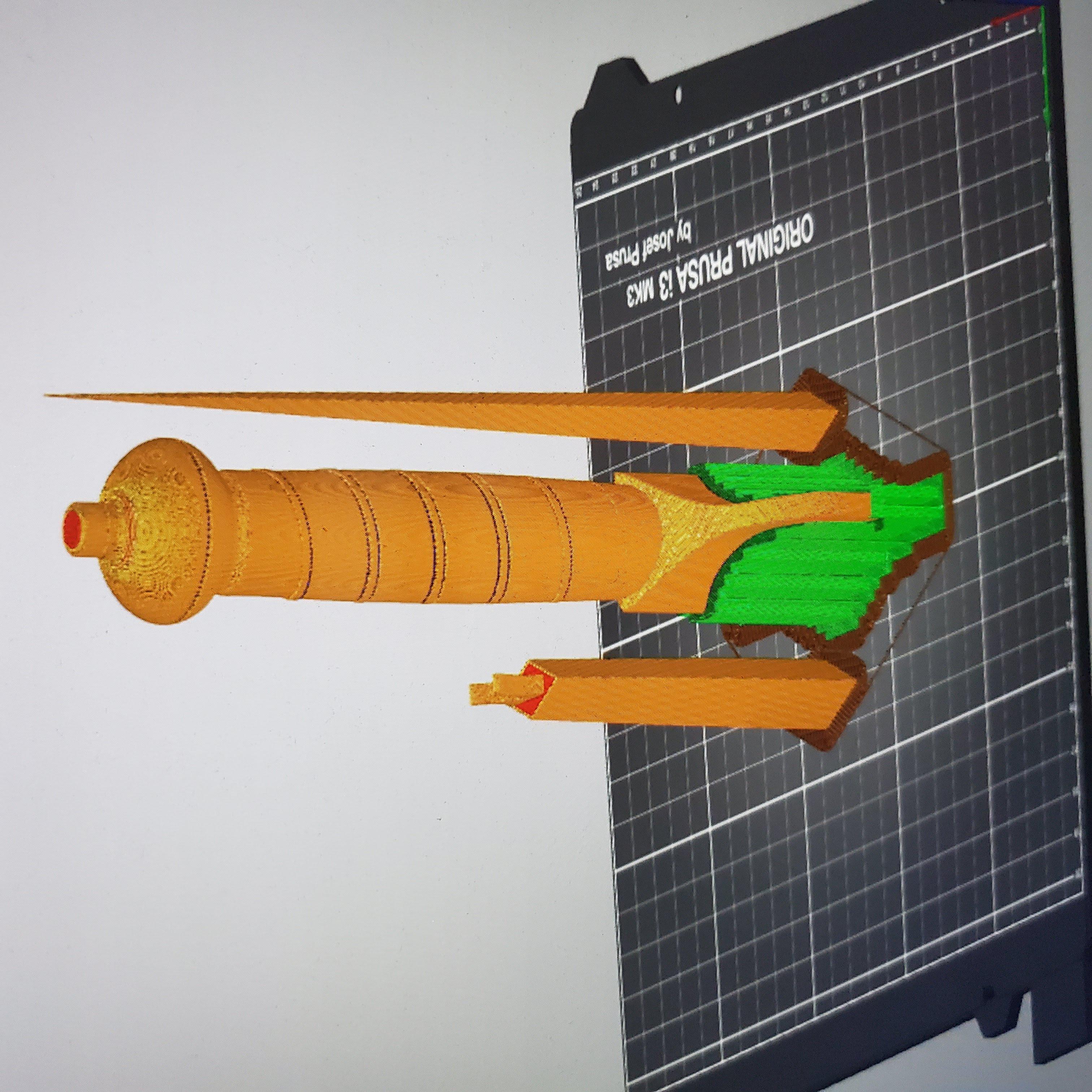 20190907_020614.jpg Download free STL file V for Vendetta Dagger New and Improved • 3D printer model, stensethjeremy