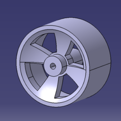 Download free 3D printer files Rear wheel race in progress, SimEtJo