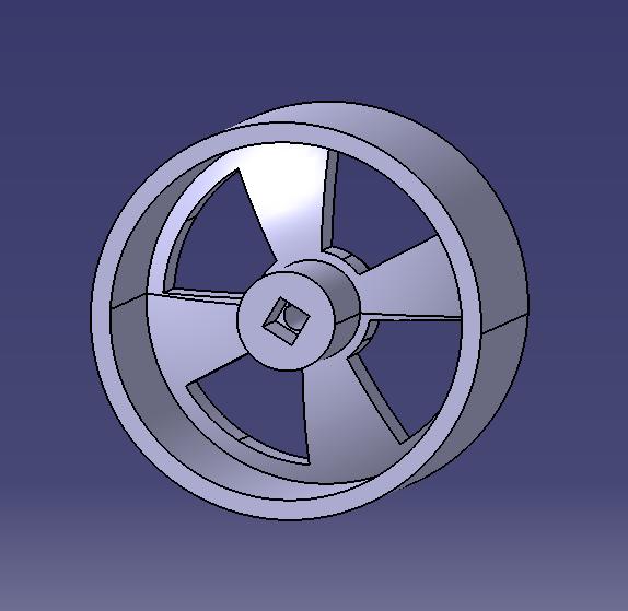 Capture7.PNG Download free STL file Rear wheel race in progress • 3D printer design, SimEtJo
