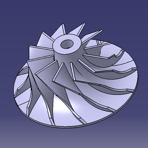Download free STL Turbine, SimEtJo