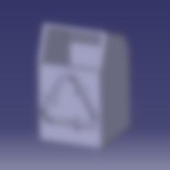 Download free STL file Mini office trash can, SimEtJo