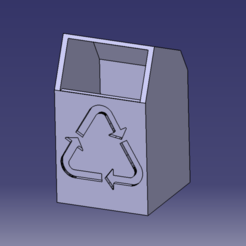 Mini poubelle de bureau ou trousse 5x5x7.PNG Download free STL file Mini office trash can • 3D print design, SimEtJo