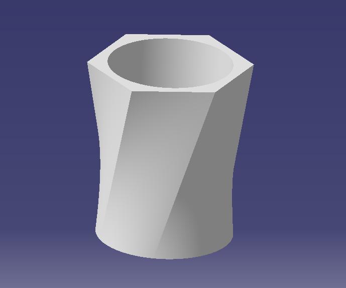 Pot de fleur 15X15X20.PNG Télécharger fichier STL gratuit Pot de fleur 15X15X20 • Plan pour impression 3D, SimEtJo