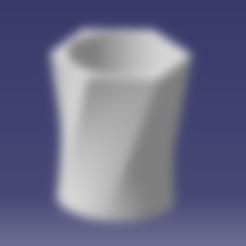 Download free 3D print files Flower pot 15X15X20, SimEtJo