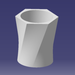 Download free 3D print files Flower pot 15X15X20, SimEtJo