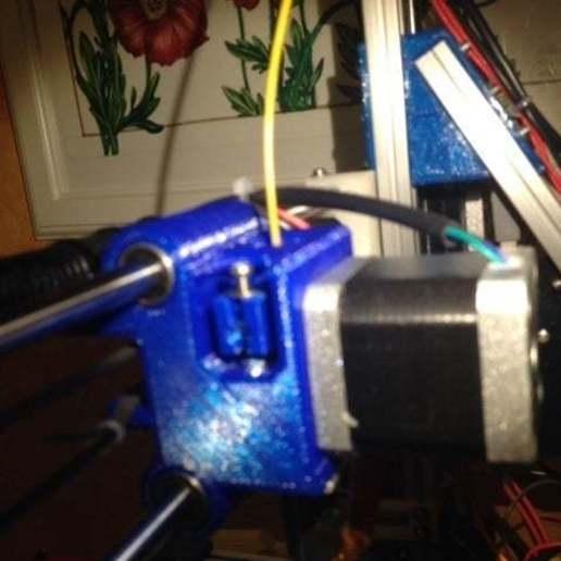 foto_3.jpg Télécharger fichier STL gratuit X chariot pour imprimante OB1.4 / Câblé1 • Design pour impression 3D, volpiclaudio