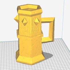 Download free STL file Tankard of Terror • Model to 3D print, haroldharmon
