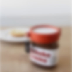 Concours Cults.stl Download free STL file Lock for the Nutella! • 3D print object, AlbinM