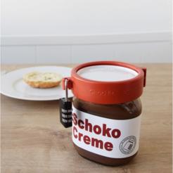 Télécharger objet 3D gratuit Serrure pour le Nutella!, AlbinM