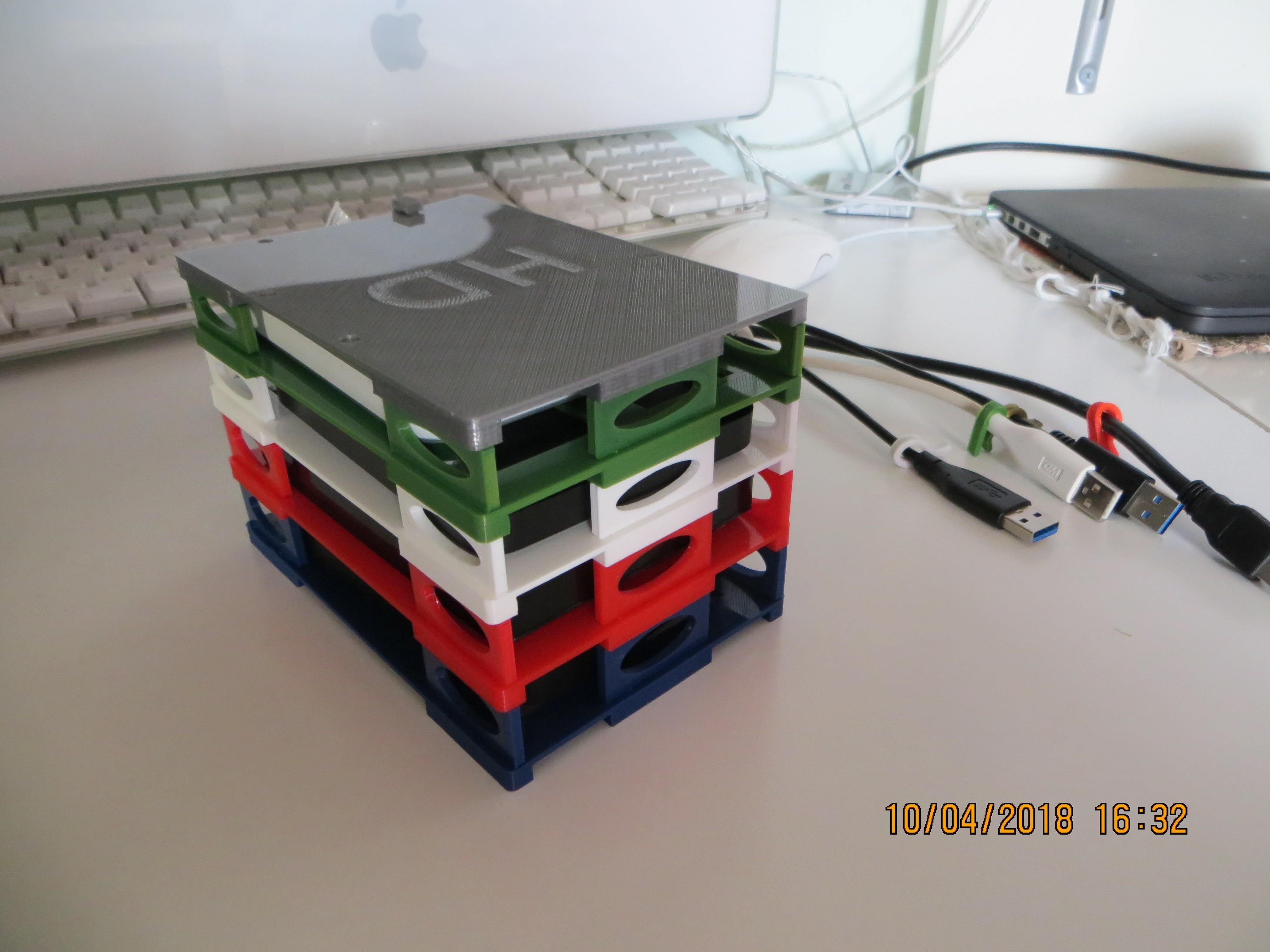 IMG_1176.JPG Download STL file NEW - Hard Drive SKYSCRAPER • 3D printer template, salva65