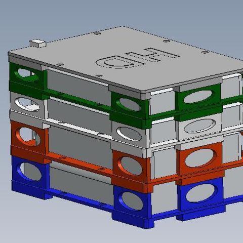 HDS 2.jpg Download STL file NEW - Hard Drive SKYSCRAPER • 3D printer template, salva65