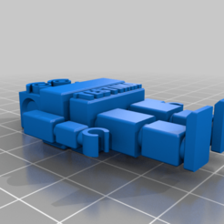 Download free 3D printing files robot keychain, jhaberhauer