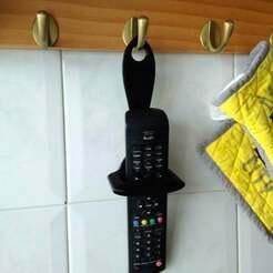 IMG_20200511_114635.jpg Download free OBJ file Porta mando TV I-Joy  / TV remote control • 3D printable template, calistoellisto