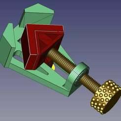 vista1b.jpg Télécharger fichier STL gratuit Corner Clamp Totalement imprimé • Objet pour imprimante 3D, calistoellisto